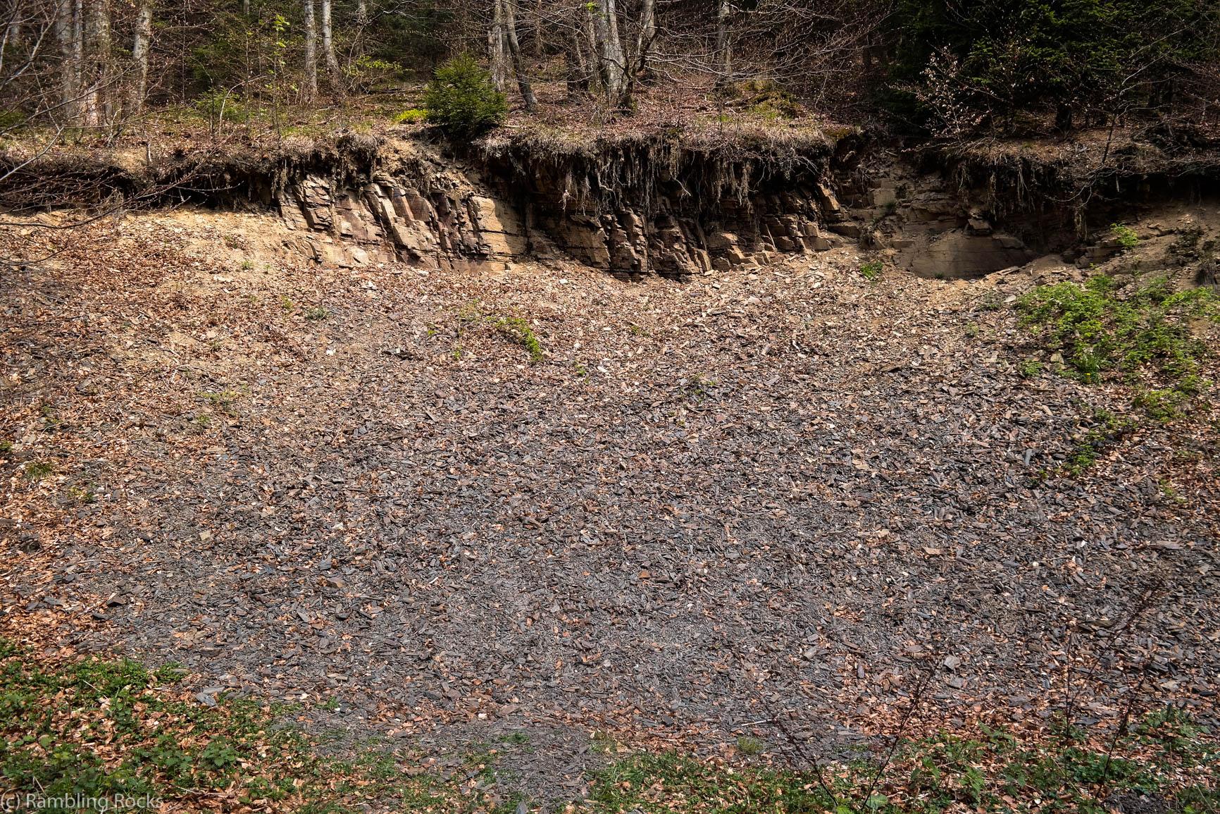Halde Trogtal Geologie
