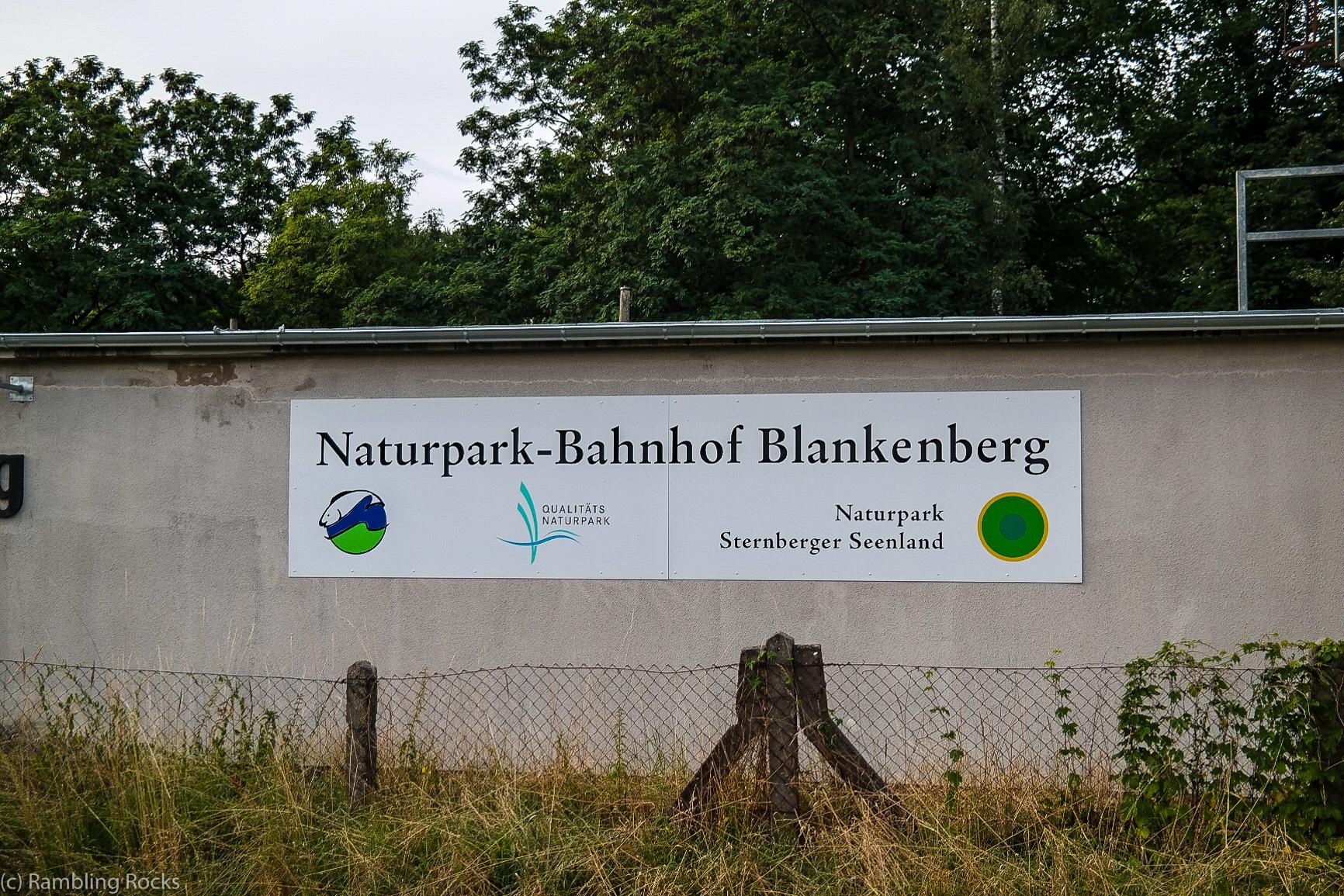 Naturpark-Bahnhof Blankenberg